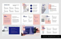 创意设计公司路演谷歌幻灯片模板 BILBAO – Google Slides + Bonus