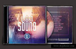 城市之音音乐CD封面模板
