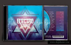 电子音乐CD封面模板