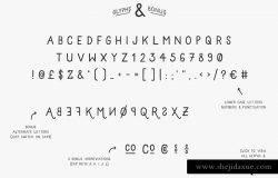 无衬线简约线条英文字体 Grayling Font