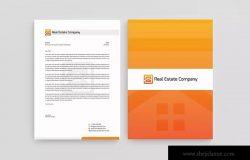房地产企业品牌形像设计模板 Real Estate Corporate Identity