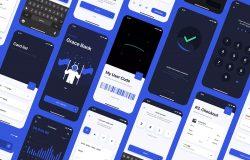 银行/金融/加密钱包App应用UI设计套件