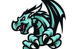Eragon-矢量徽标/图标插图吉祥物