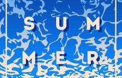 暑假和夏令营海报。