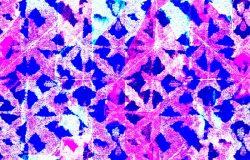 色领带印花。无缝手绘波霍图案。油墨纹理日本背景。现代蜡染墙纸瓦。织物服装的水彩图案。扎染蜡染。民族设计。