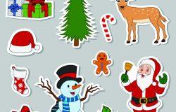 配饰贴纸圣诞
