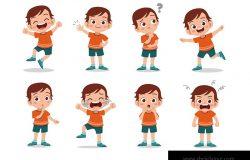 儿童表达向量集集束