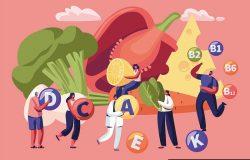健康生活方式有机食品选择。