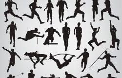 25张田径运动员图片