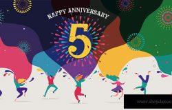 周年庆典。快乐的人们跳舞,演奏音乐,庆祝。