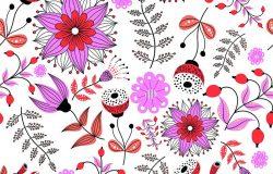 无缝植物学纹理