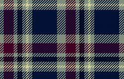 格子无缝图案。格子纹理矢量