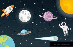 月球太阳空间