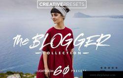60款博主必备照片效果处理LR预设 The Blogger Lightroom Presets