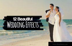 12个漂亮的婚礼摄影Ps褪色胶片效果 12 Beautiful Wedding Effects