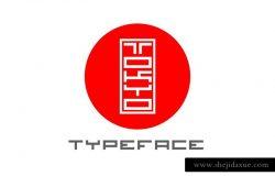 深受日本印章启发的英文字体 Tokyo Typeface