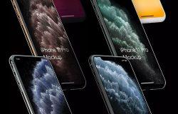 高品质的iPhone 11 Pro场景展示样机