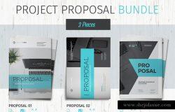 企业品牌宣传画册模板合集 Proposal Bundle