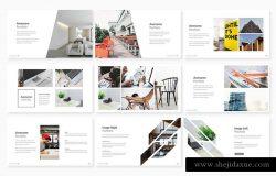 干净、极简的商务演示幻灯片模板下载 Kanal Business Presentation[key,pptx]