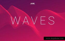 波浪 | 网络线条背景