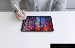 真实场景iPad Pro(第三代)设备样机展示模板