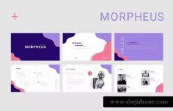 企业/产品目录/项目投标适用极简主义风Keynote模板 Morpheus Keynote