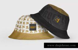 渔夫帽帽子设计样机模板 Bucket Hat Mockup