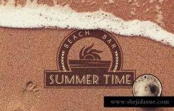 20款海滩沙滩沙子纹理背景素材