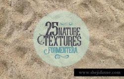 25种福门特拉岛自然纹理素材